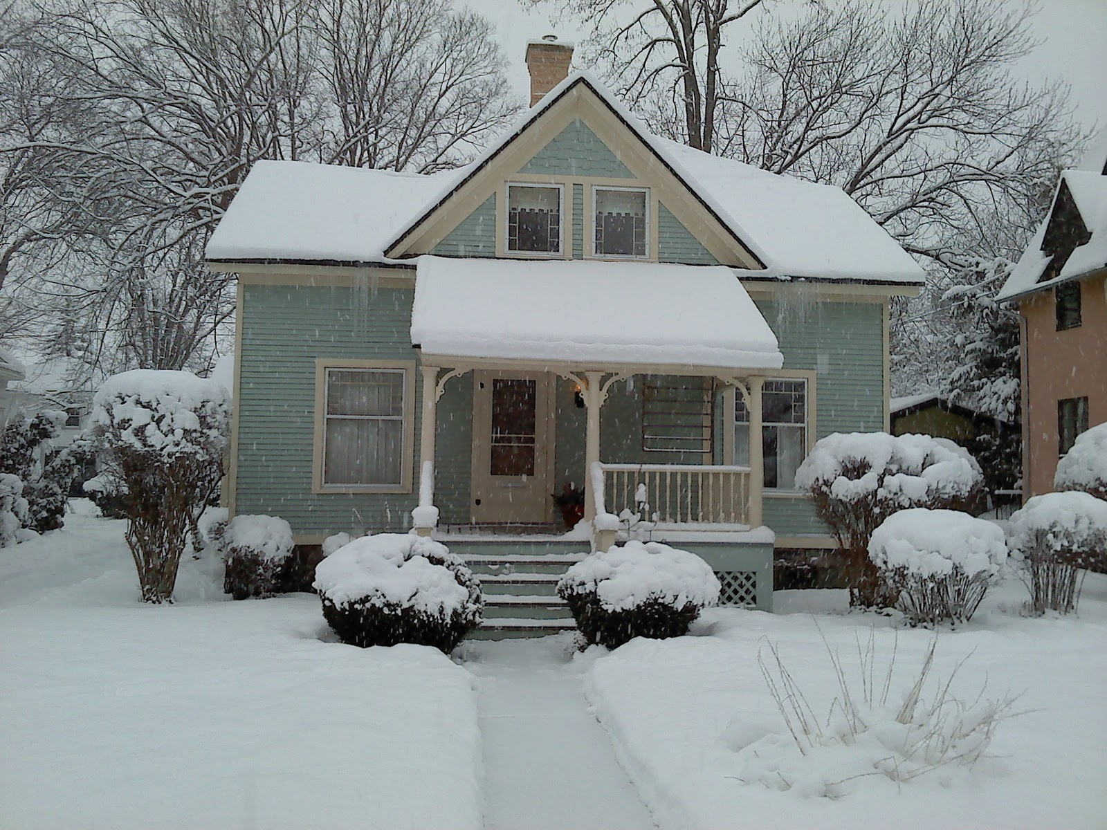 Free photo: Snowy Neighborhood, Winter - Free Image on Pixabay ...
