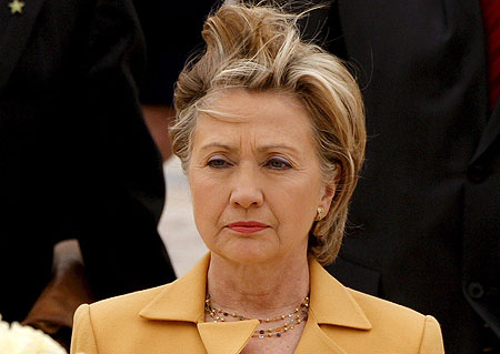 Hillary Clinton Bad Hair Day