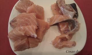 Marmitaco de salmón