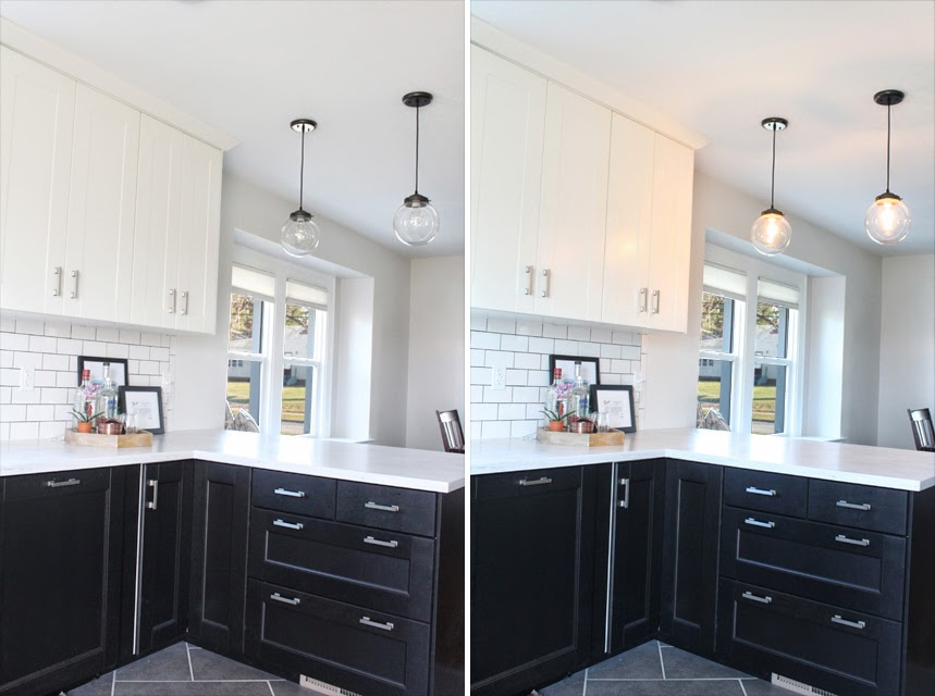 Pendants Pendants Everywhere Danks And Honey - Pendant lighting over kitchen peninsula