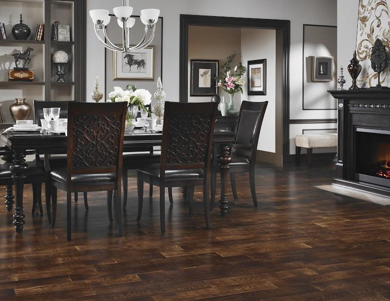 Rooms with Dark Hardwood Floors