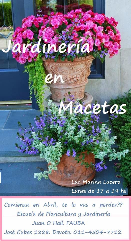 Jardines al sur curso de jardineria en macetas for Escuelas de jardineria en barcelona