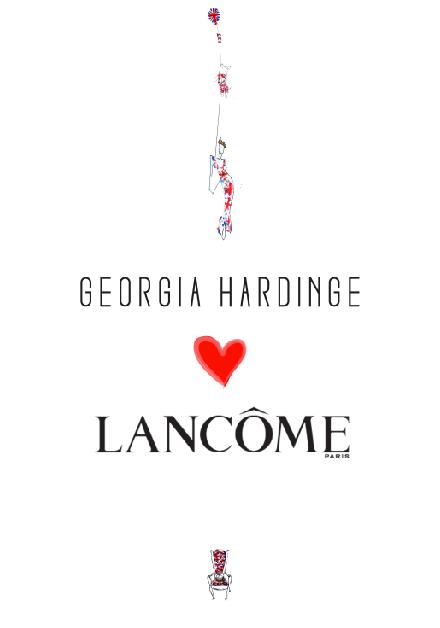 My collaboration with Lancome exclusively at Selfridges for the Queens Jubilee