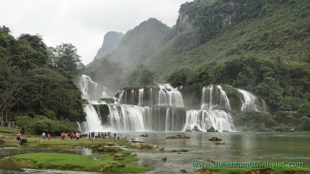 Kỳ vỹ thác Bản Giốc ở Cao Bằng, Việt Nam