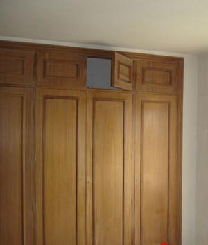 T preguntas ideas para renovar las puertas del armario - Como forrar las puertas de un armario ...