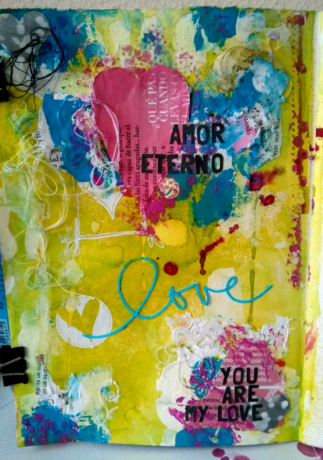 Art Journal: Love, love, LOVE!