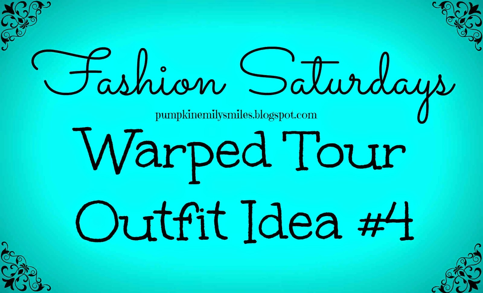 Vans Warped Tour 2014 Outfit Idea #4 Fashion Saturdays