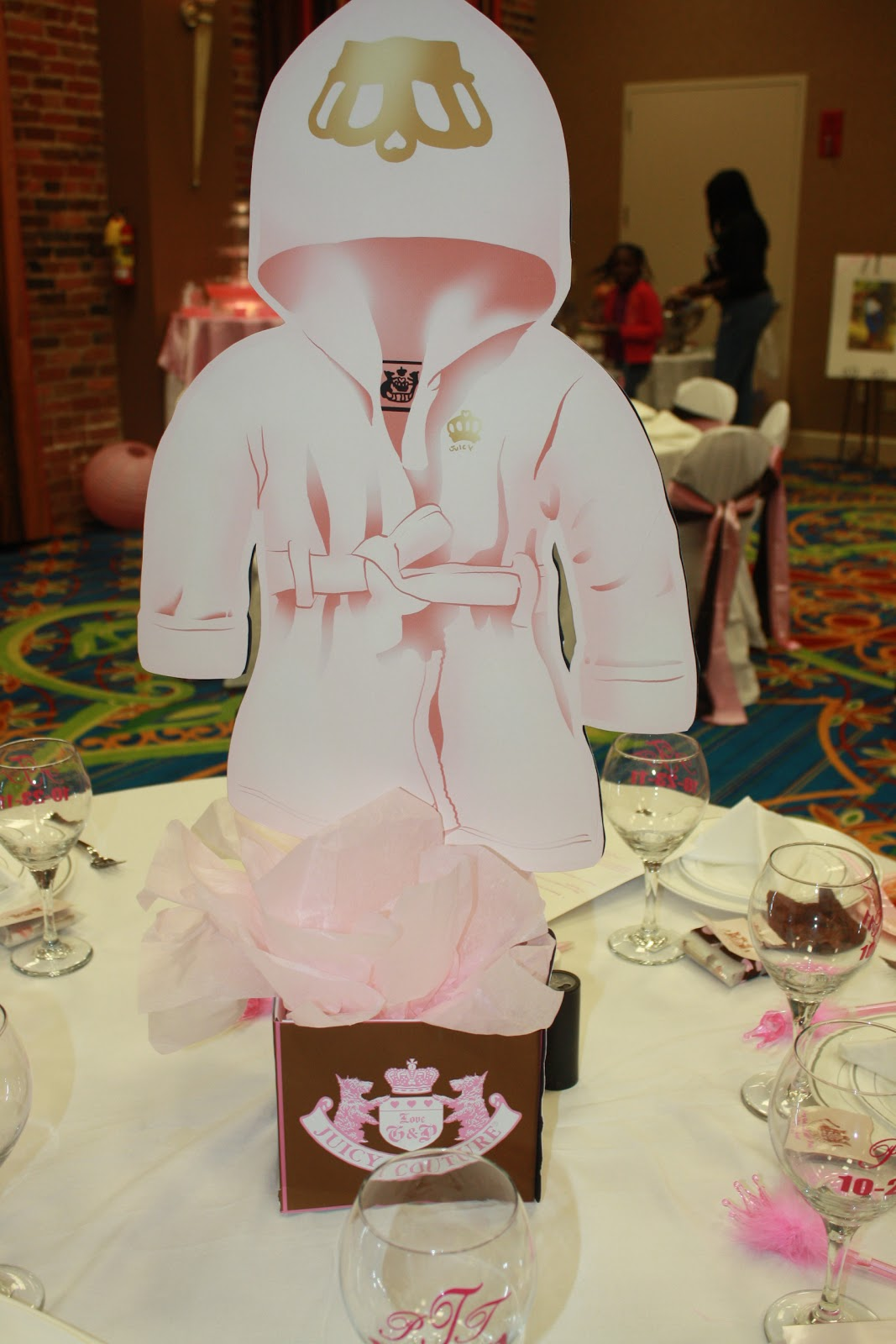 Juicy Couture Baby Shower