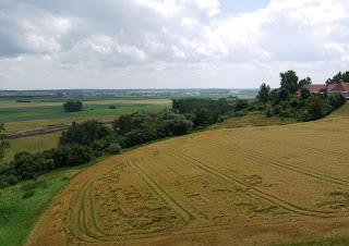 Ausblick von der Heuneburg in Richtung Südosten