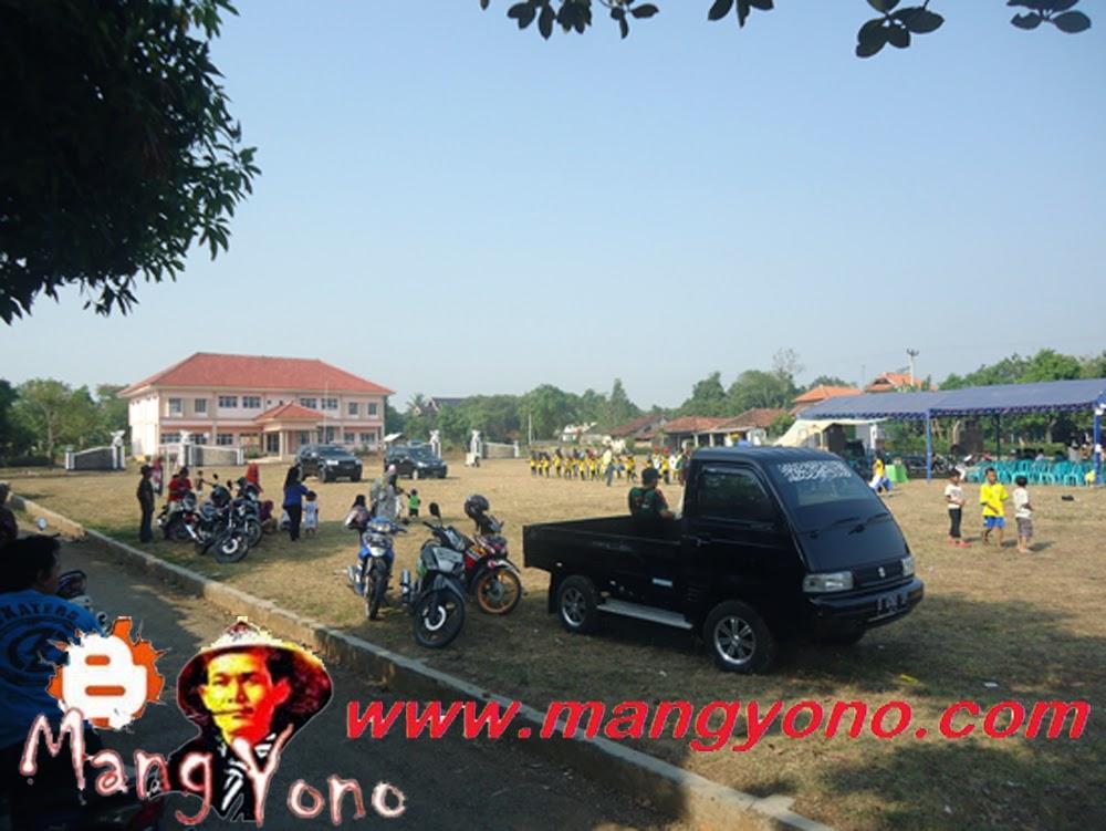 Inilah lapangan sepak bola Desa Bendungan / Alun - alun kecamatan Pagaden Barat