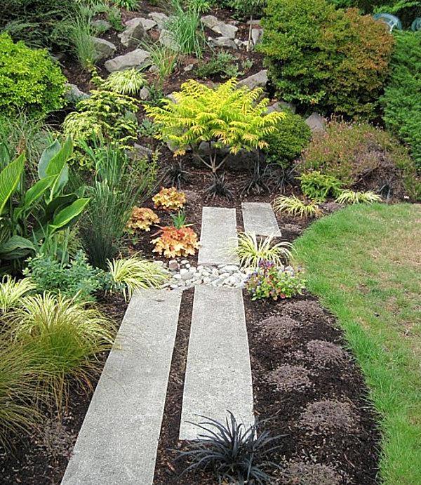 Ideas de dise o de jardines de piedras jard n y terrazas - Piedras de jardin ...
