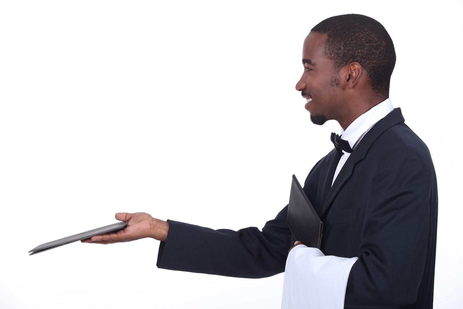 african institute of hospitality fast track restaurant waiter