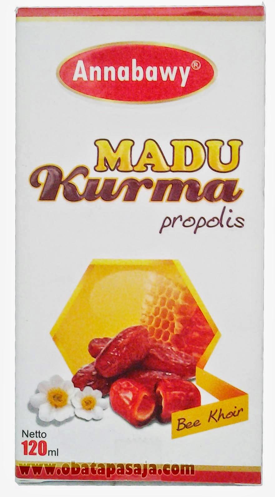 Khasiat Madu Kurma Propolis Annabawy