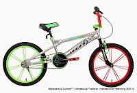 Sepeda BMX Pacific Cool Tech 1.0 20 Inci
