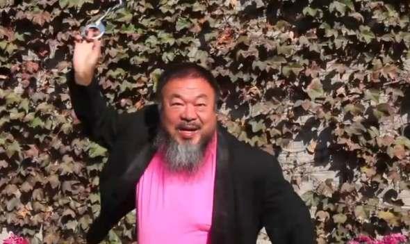 Gangnam stlye Ai Weiwei
