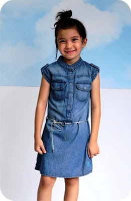Model Baju Anak Perempuan Sembilan Tahun Dress Jeans