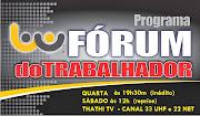 PROGRAMA FÓRUM DO TRABALHADOR