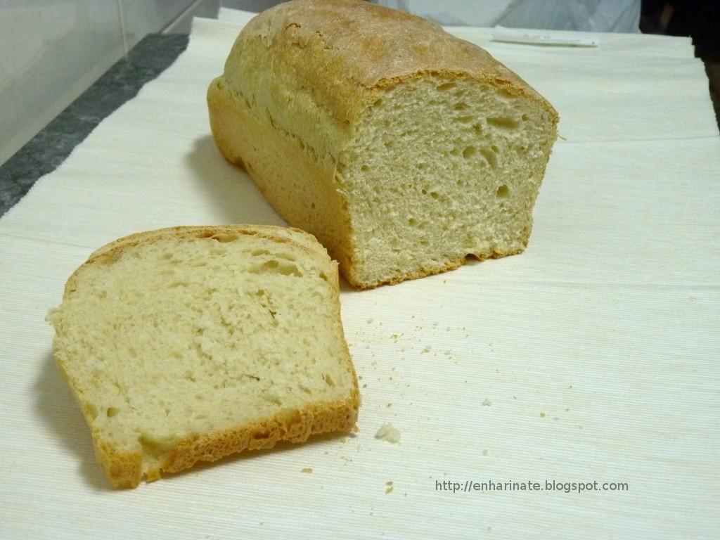 Pan de molde en panificadora o en horno EnHarinate