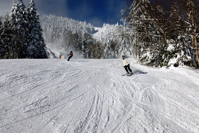 Skiing at Gore Mountain, Saturday, January 5, 2013.