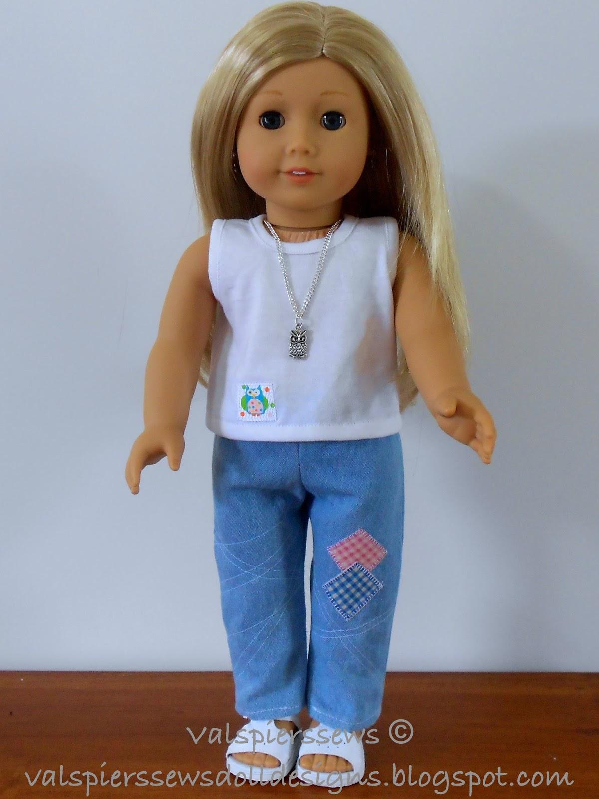 Doll Clothes Patterns Valspierssews Sew