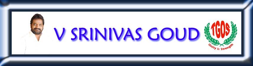V SRINIVAS GOUD