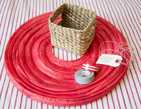 Paper Basket Design Paper Lantern Basket Washi