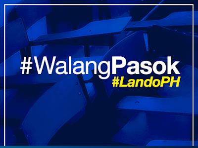 #WalangPasok Oct. 19, 2015, Monday