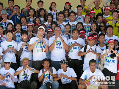 Habitat for Humanity Philippines Youth Build 2014 in Bohol