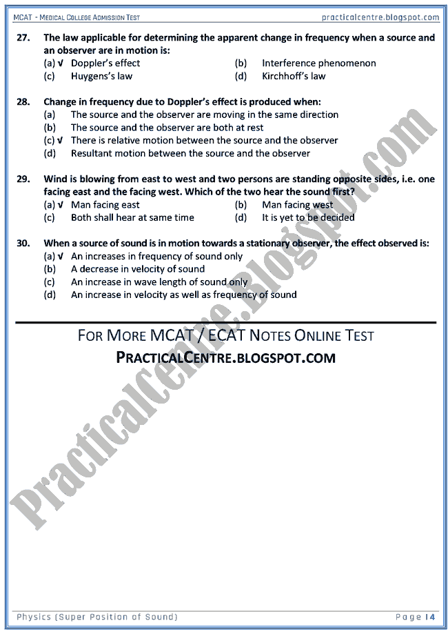 mcat-physics-super-position-of-sound-mcqs-for-medical-college-admission-test