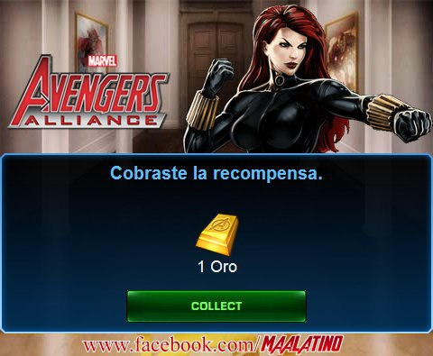 REGALOS - 1 de Oro | Marvel: Avengers Alliance - Latino