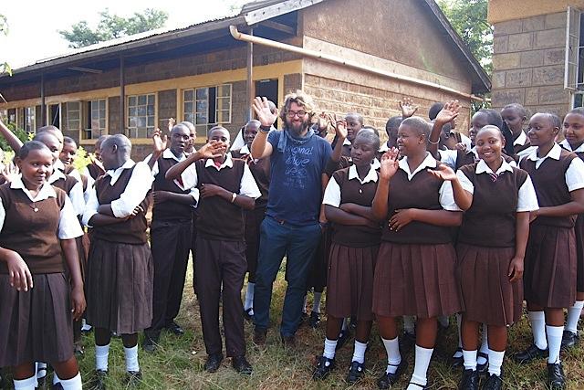 fra Miro Babić mali dom misija afrika sirotište misionar škola crkva u misiji St Francis, kum djetetu, kumstvo