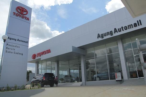 Agung Toyota Pekanbaru I - Sutomo, Alamat : Jl. Dr. Sutomo 13, Pekanbaru 28143