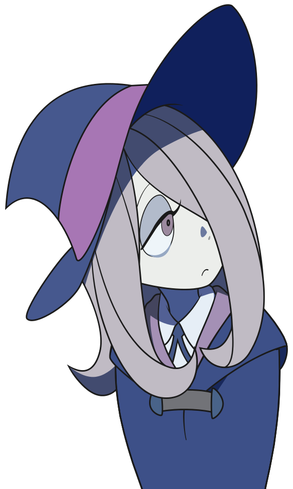 render Little Witch Academia + Sucy Manbavaran