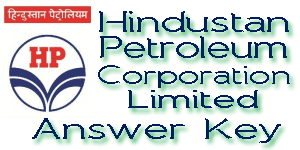 HPCL Answer Key 2017