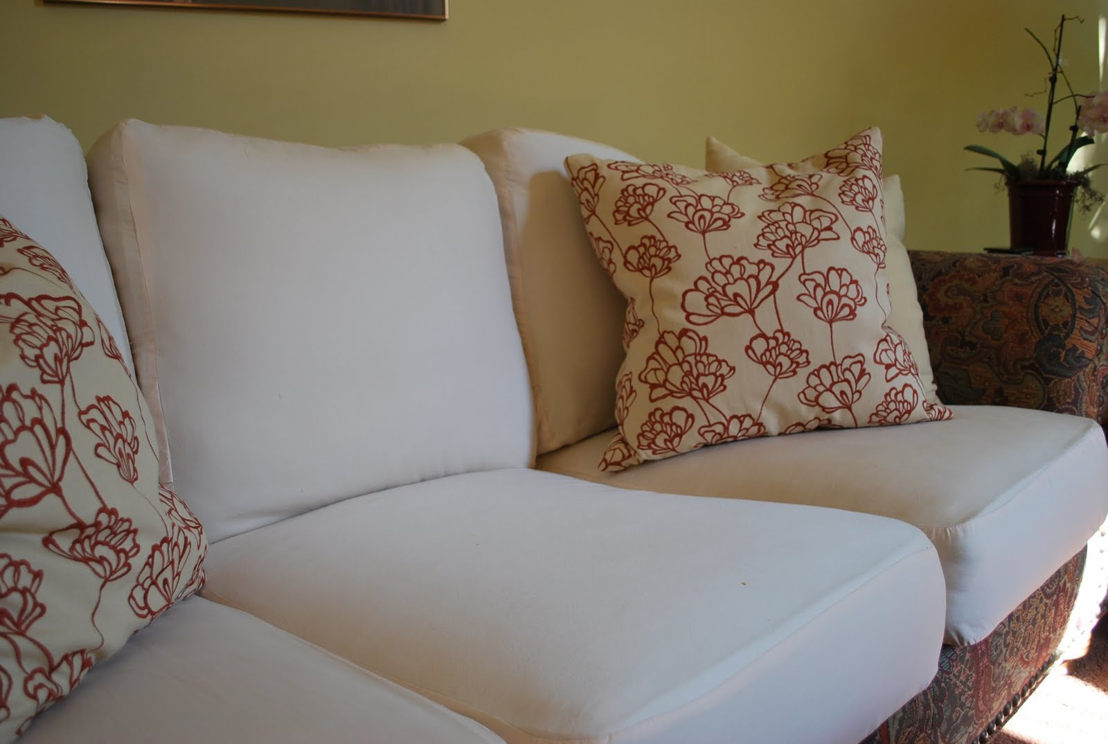pin this to stripe slipcovers loved with fabric cotton awning easy making slipcover match roth tompkins