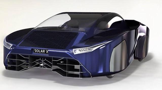 無限に走り続けることも?ベンチャー企業が開発中のソーラースポーツカーがスゴい!