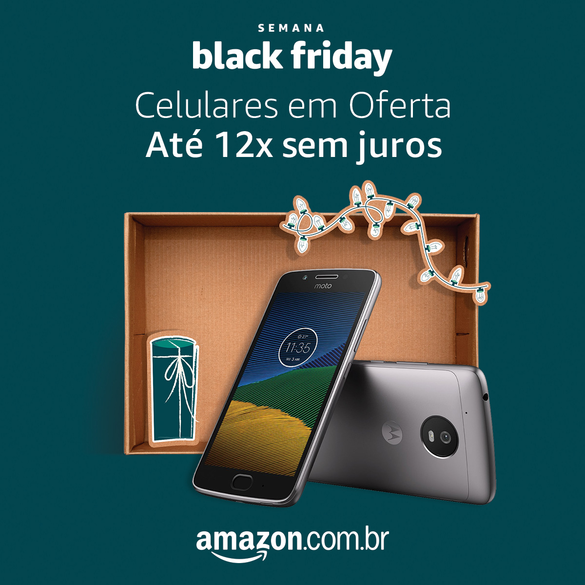 Eletrônicos na Black Friday da Amazon