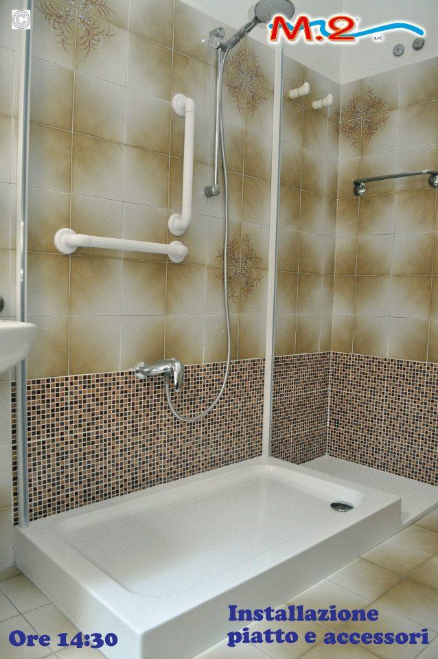 M 2 trasformazione vasca in doccia e sistema vasca nella - Piatto doccia piccolo ...