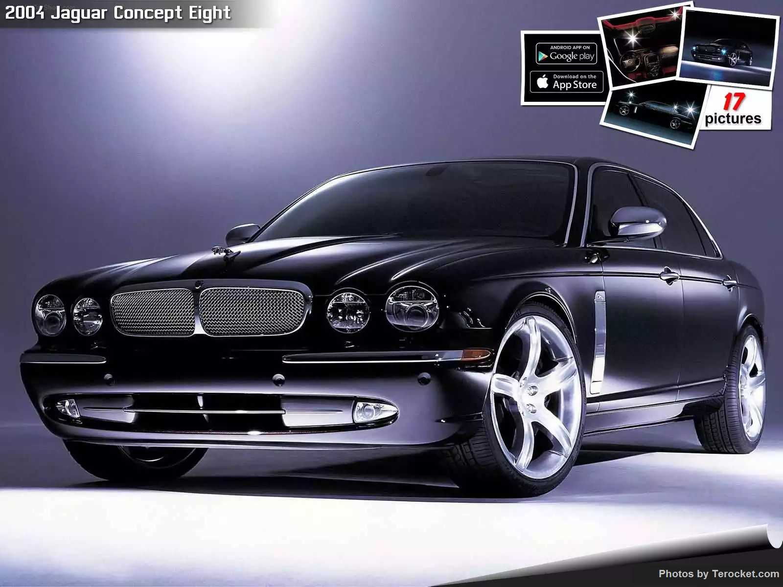 Hình ảnh xe ô tô Jaguar Concept Eight 2004 & nội ngoại thất