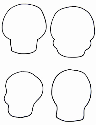 Blank sugar skull template free blank masks coloring pages blank sugar skull template the craftinomicon make your own sugar skull embroidery pronofoot35fo Gallery
