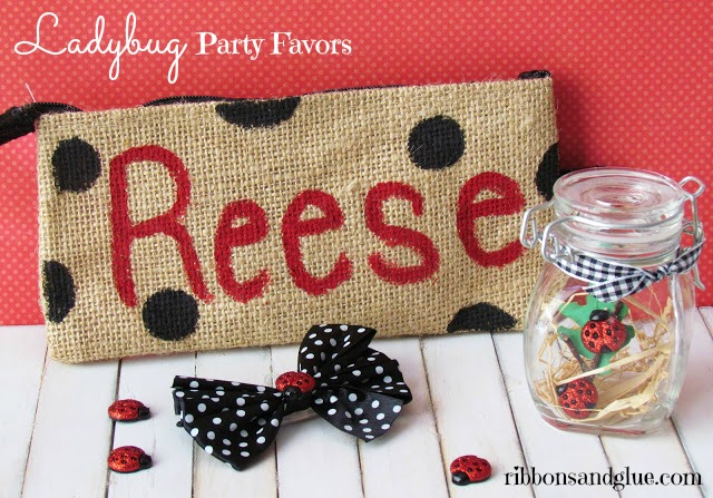 Ladybug Party Favors