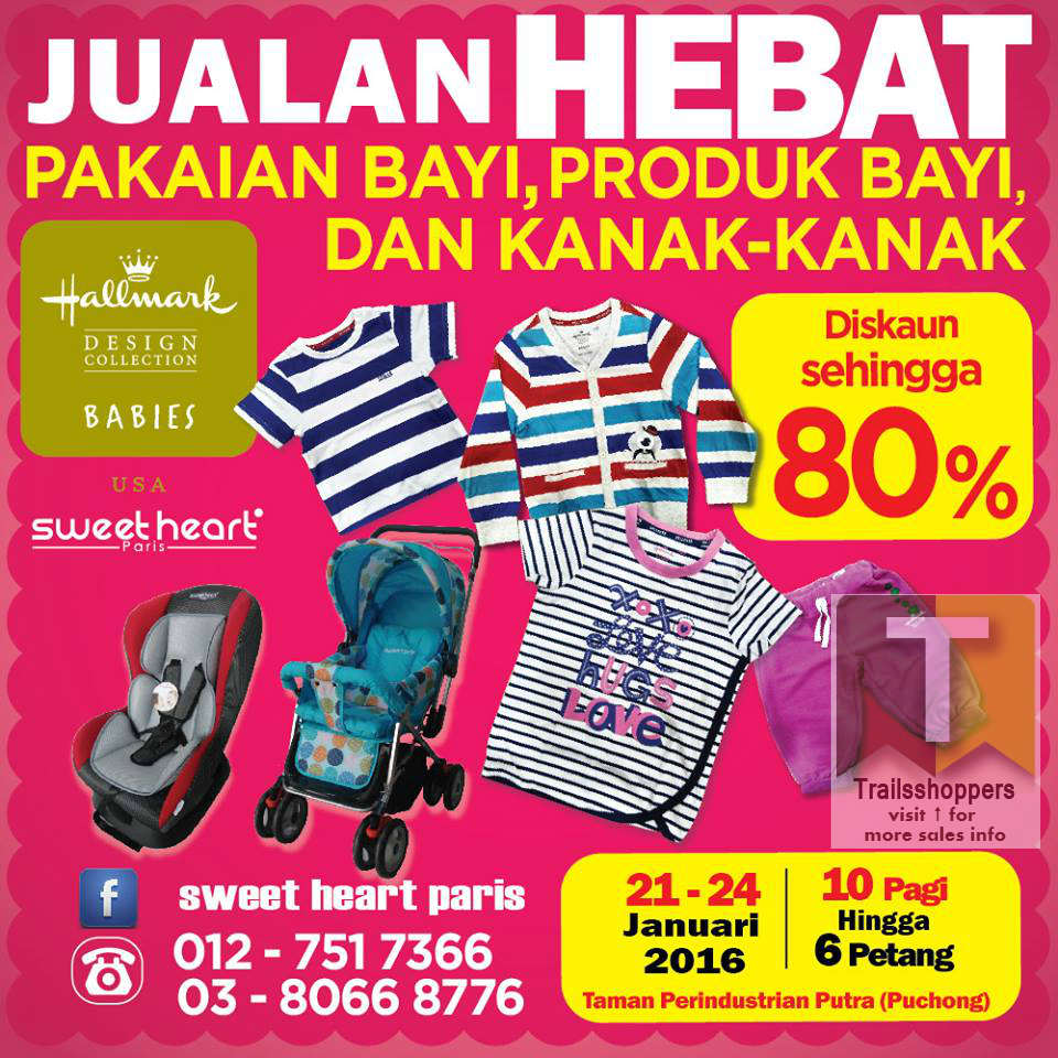 Sweet Heart Paris Warehouse Clearance Sale 2016