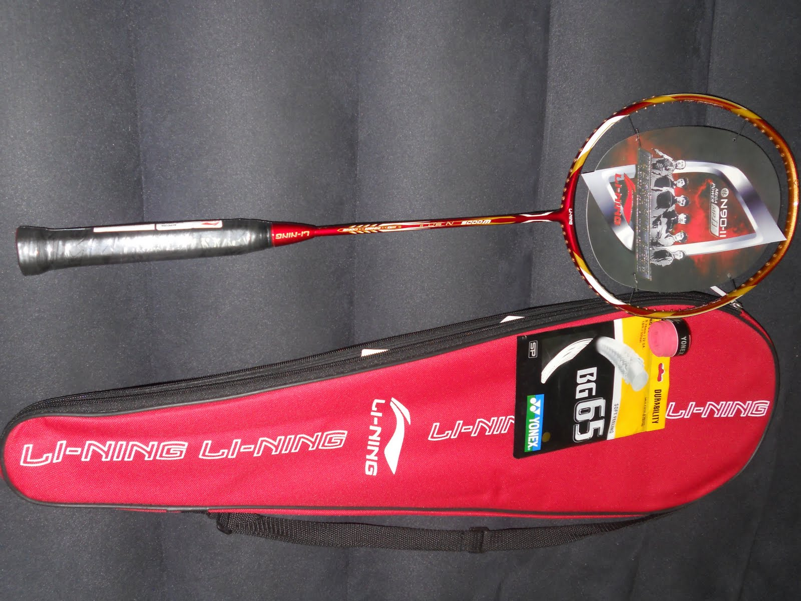 Online Raket Badminton Yonex Li Ning August 2011