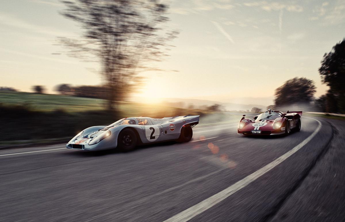 Clash Of The Titans Once Again Porsche 917 And Ferrari