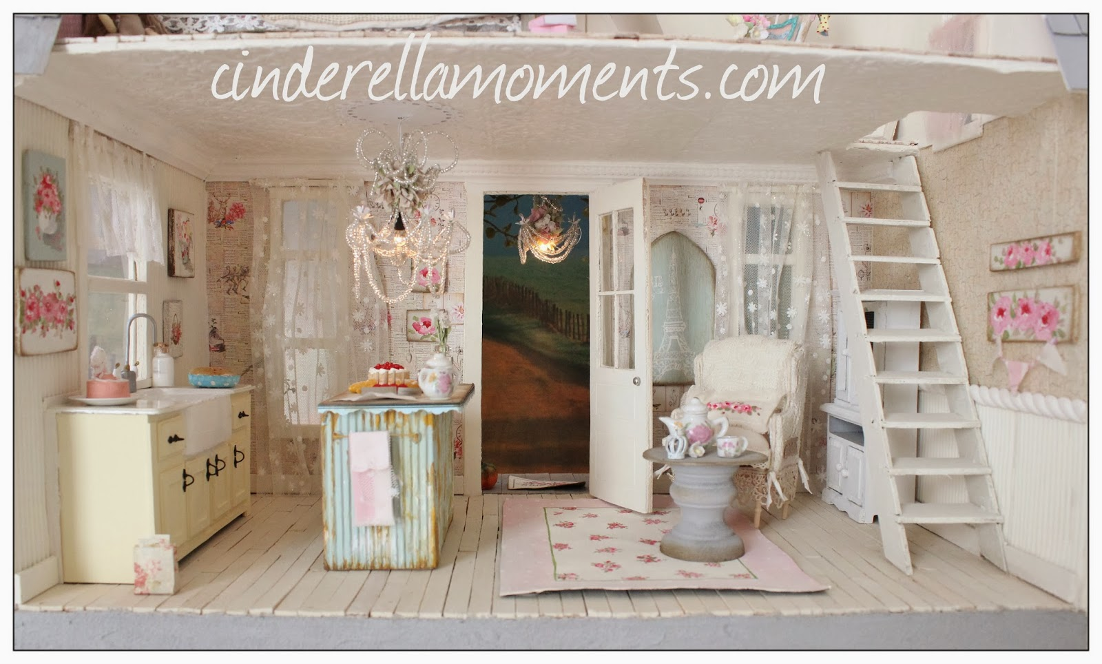 cinderella moments lulu 39 s maison. Black Bedroom Furniture Sets. Home Design Ideas