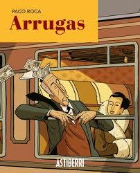Se ve la viñeta de un señor mayor asomado por la ventanilla de un tren en marcha