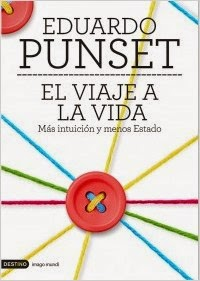 "Cubierta de ""El viaje a la vida"", de Eduardo Punset"