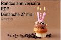 Randos anniversaire RDP
