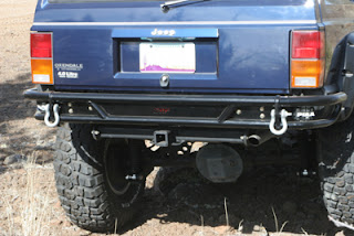 OR-Fab Jeep XJ rock slider rear bumper PN 83209