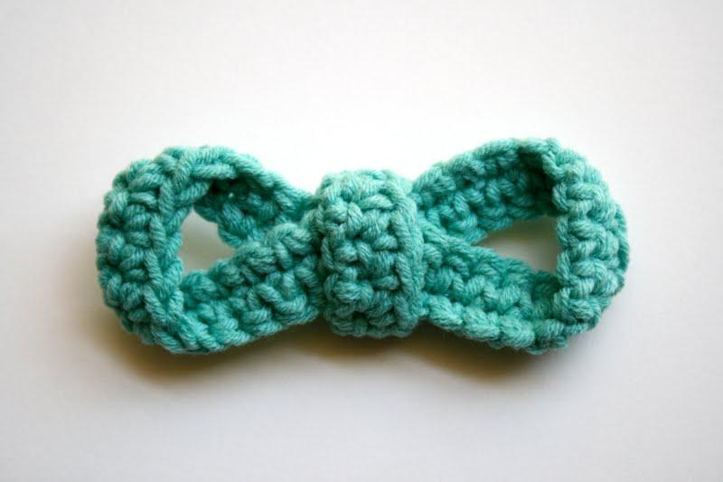 Crochet Bow : one sheepish girl: New Crochet Bows